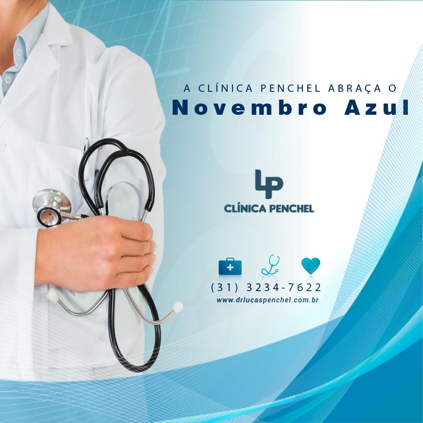 Dr. Lucas Penchel A Clínica Penchel abraça o Novembro Azul
